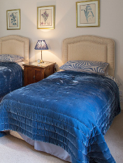 Twin bedroom at Fords Farm bed & breakfast Wallingford near Oxford